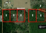 Cypress Creek Country Lots | Aerial Map